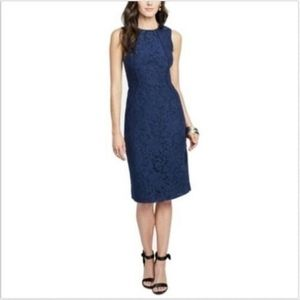 Rachel Roy Womens Dress Navy Blue Size 8 NWT
